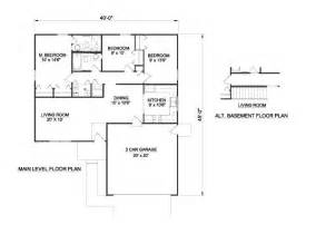 How Big Is 1100 Square Feet by 3 Bedroom House Plans Ideas