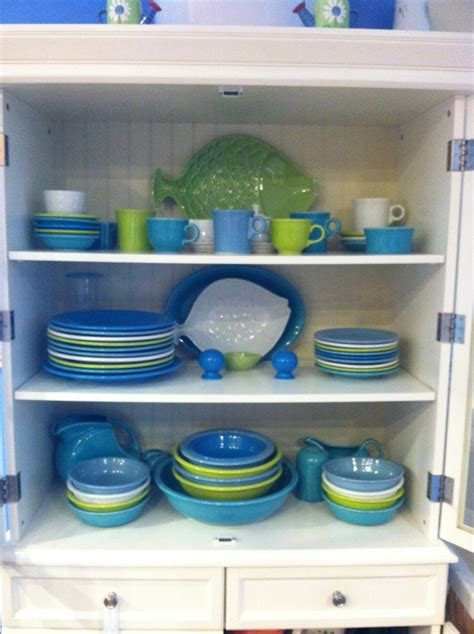 like the color combination fiestaware