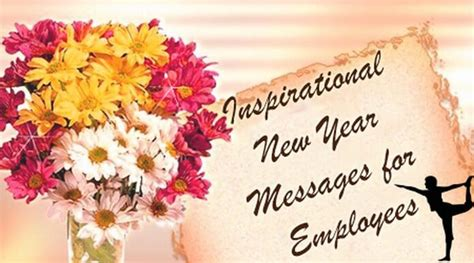 inspirational new year messages for employees new year