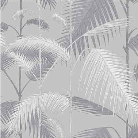 grey jungle wallpaper lilac and grey palm jungle wallpaper