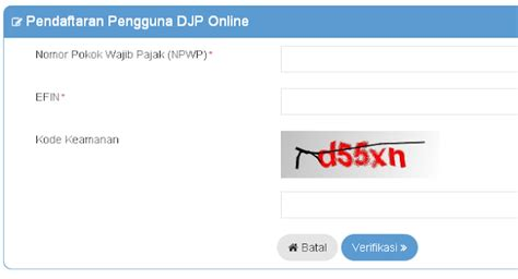 tutorial mengisi npwp online cara lapor pajak spt tahunan online tutorial gambar