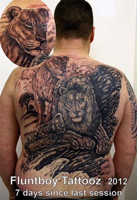 lion back tattoo tattoos inspiring tattoos