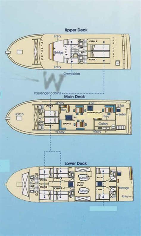 Aida Deck by Aida Galapagos Island Cruise Southern Explorations