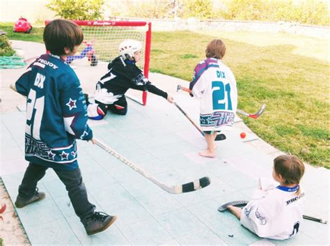 backyard hockey game sweet dreams are made of these the legacy of backyard sports