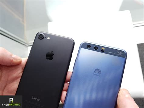 huawei p  iphone  une ressemblance vraiment flagrante