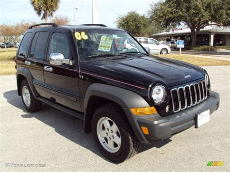 black jeep liberty 2006 black jeep liberty sport 25581261 photo 11