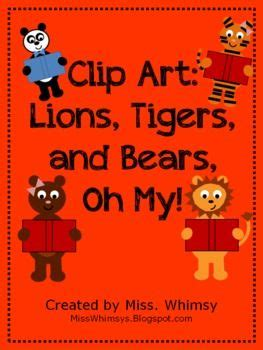 Lions Tigers Bears Oh My by Lions Tigers And Bears Clip Oh My Products