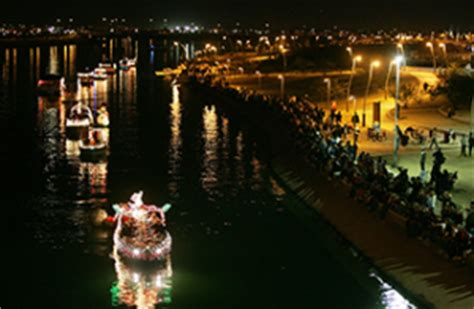 tempe town lake boat parade tempe tourism tempe calendar of events