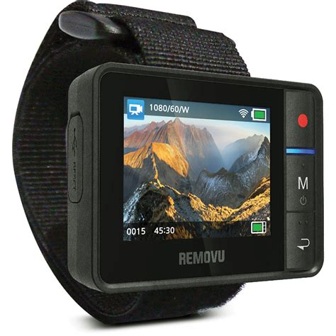 Jc02 Removu R1 Live View Remote For Gopro Hero3 Hero3 Hero4 removu r1 live view remote for gopro hero3 hero3 rm r1 b h