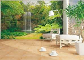 Wall Paper Murals Wall Mural Wallpaper Nature Jungle Downfall Plant Photo