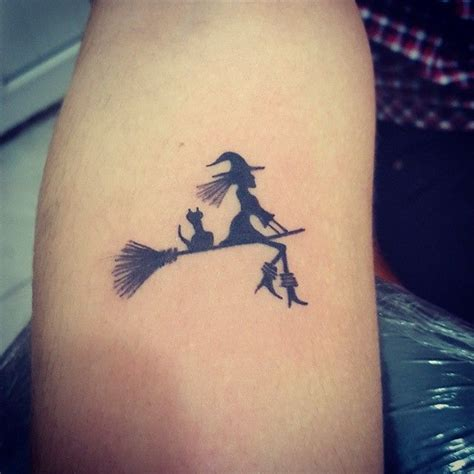 witchy tattoos 32 marvelous witch tattoos for best