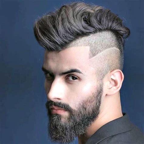 curly mohawk beard the mohawk fade haircut men s haircuts hairstyles 2017