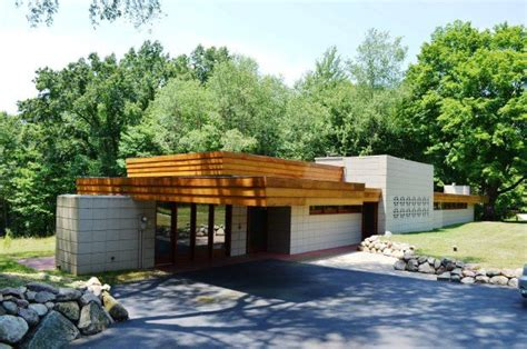 eric and pat pratt house plan 1951 frank lloyd wright a photo on flickriver 13 best images about flw pratt house on pinterest