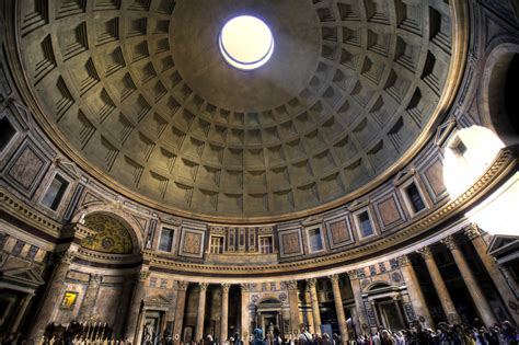 cupola pantheon roma pantheon koepel de wereldwonderen