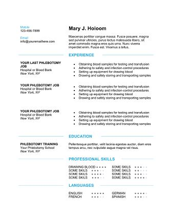 entry level phlebotomy resume qualifications resume 50 phlebotomist resume sle