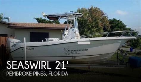 striper boats for sale florida seaswirl boats for sale in florida
