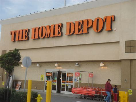 shopping at home depot