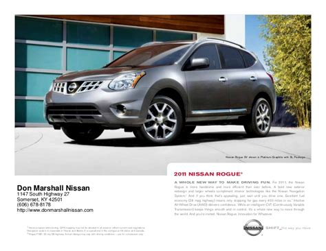 nissan rogue  sale  lexington ky don