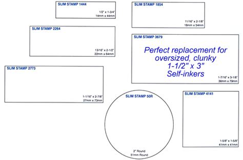 company seal st template pre inked st preinked st custom inked pre st