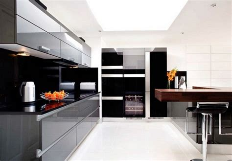 Modern Black Kitchen Cabinets Modern Black Kitchen Cabinets Modern Kitchen Designs
