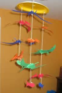 Christmas Card Craft Kids - preschool crafts for kids pteranodon dinosaur mobile craft