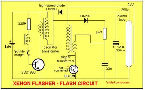 flyback diode oscilloscope elektronik devreler xenon flaş 246 r devre şeması