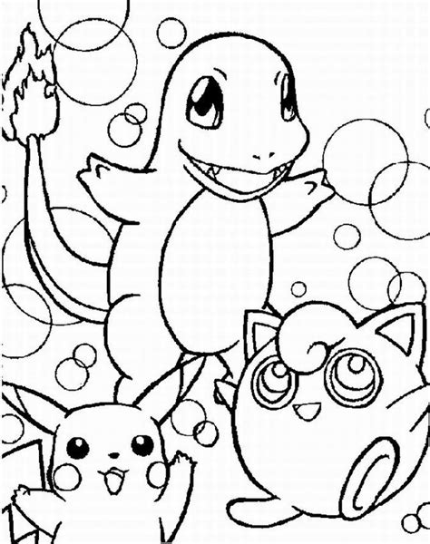 coloring pages for pokemon characters coloring pages of pokemon characters coloring home