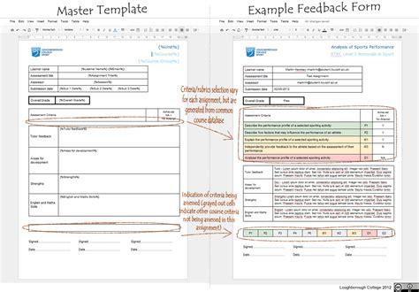 feedback tracker template apps mashe