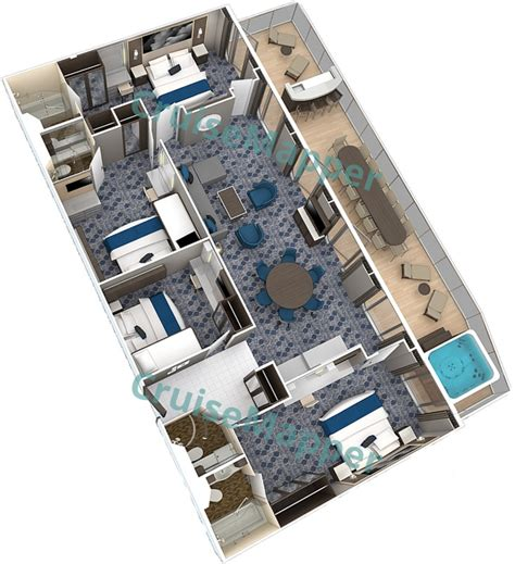 freedom of the seas floor plan freedom of the seas cabins and suites cruisemapper