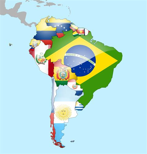 north america map with flags south america flag map by lg studio on deviantart