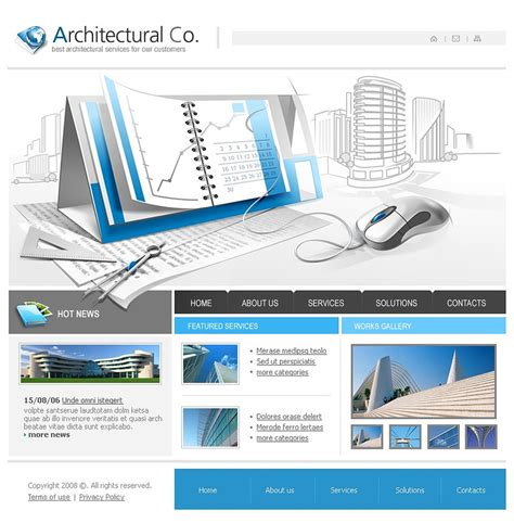 architectural templates architecture website template web design templates