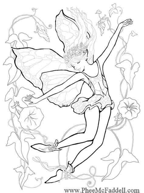 coloring pages of mermaids and fairies enchanted designs fairy mermaid blog free fairy fantasy