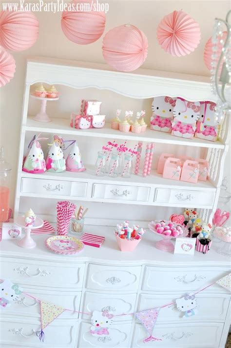 kitty birthday themes kara s party ideas hello kitty birthday party planning