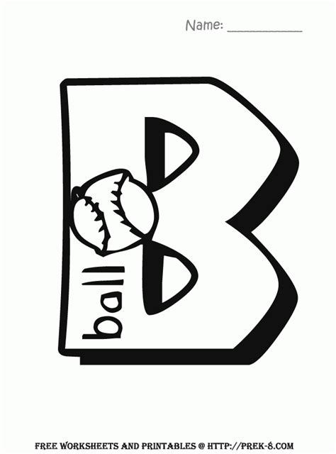 5 letter colors letter b coloring page coloring home