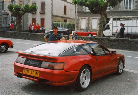 renault alpine gta renault alpine gta turbo photos and comments www