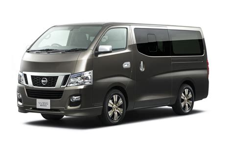 nissan van tokyo show preview new nissan nv350 van carscoops