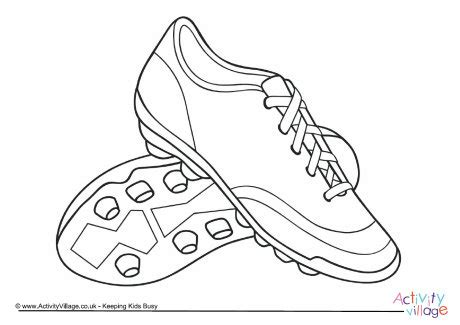 coloring pages football shoes football boots colouring page 2