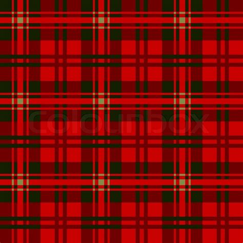 plaid design tartan plaid patterns fabric textile stock vector