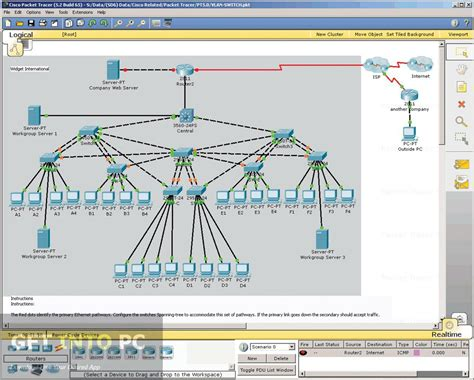 cisco packet tracer online tutorial learn what is a routing table and how to create it in