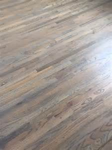 red oak floors with classic grey and weathered oak stain