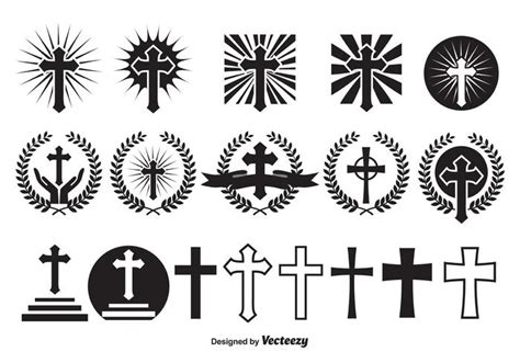 vector crosses download free vector art stock graphics