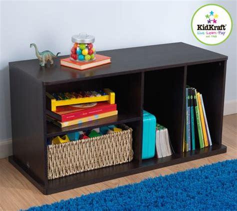 simple kids bedroom with kidkraft espresso wall toy storage unit and 8 plastic storage bins espresso add on storage unit walmart canada