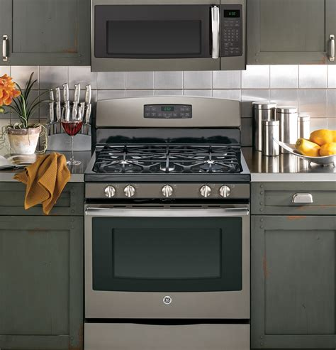 ge kitchen appliances ge slate appliance package with new ge jgb690eefes 30 wide