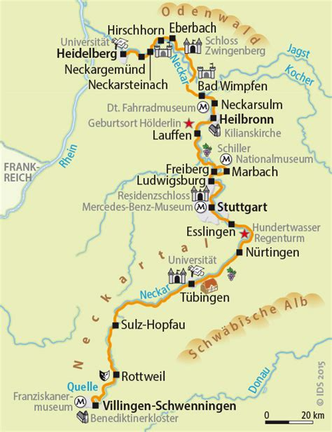 Walk In Bath And Shower neckar bike trail from the spring to heidelberg 10 days