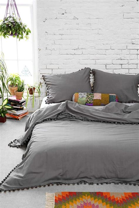 magical thinking bedding magical thinking pom fringe duvet cover products i love