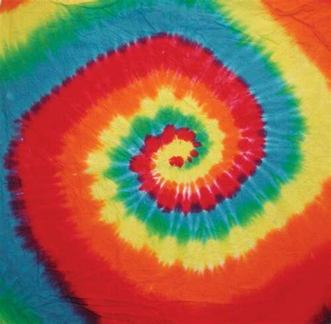 rainbow spiral tie dye bandana