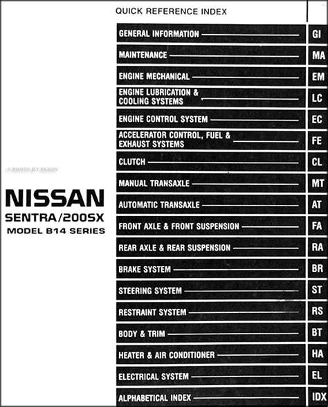 motor repair manual 1997 nissan sentra navigation system 1998 nissan sentra wiring diagram 33 wiring diagram images wiring diagrams mifinder co