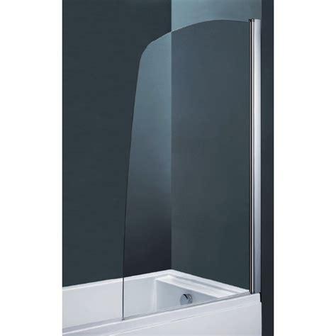 box doccia per vasca da bagno parete per vasca da bagno ad un anta cristallo 6 mm