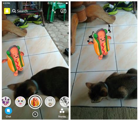 snapchat hot dog filter social media apps