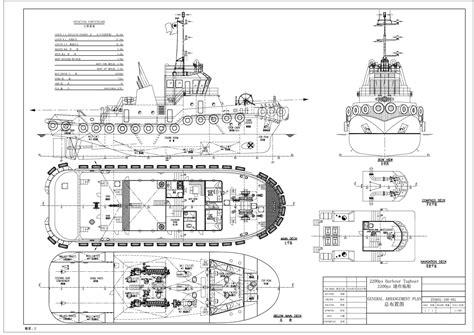 tugboat length 2200hp tugboat ship builders anchor handling tug builders